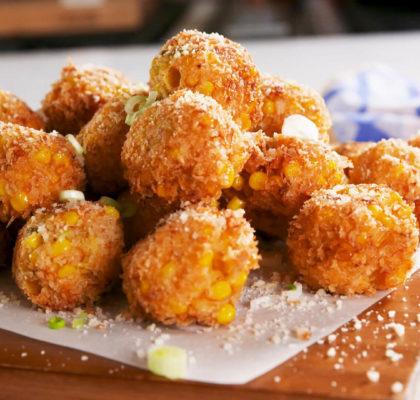 Corn Cheese Croquettes Recipe
