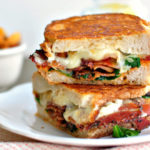 Grilled Tomato and Cheese Sandwich