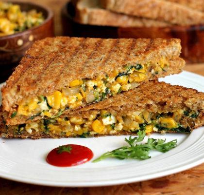 Sweet Corn Sandwich Recipe