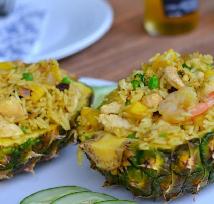 Pineapple Fried Rice recipe by rasoi menu