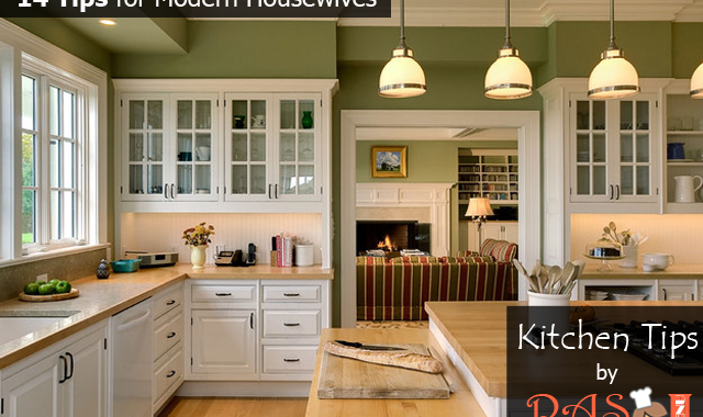 14 Smart Kitchen Tips For Modern Housewives
