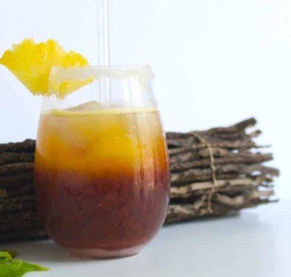 Mango ginger Iced Tea recipe by rasoi menu