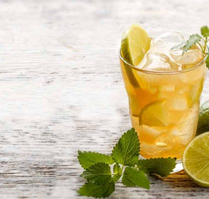 Minty Iced Tea recipe by rasoi menu