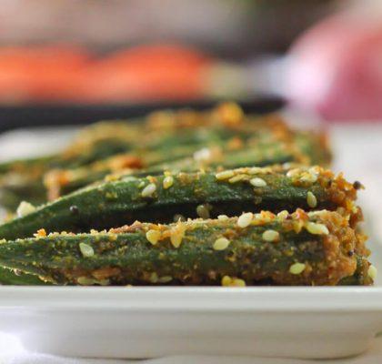 Stuffed Okra Recipe by RasoiMenu