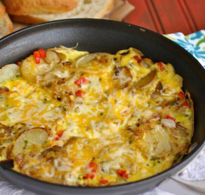 spanish omelet breakfast recipe by rasoi menu