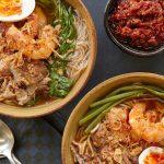Classic Shrimp Laksa with Rice Noodles