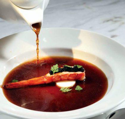consomme clear soup recipe by rasoi menu