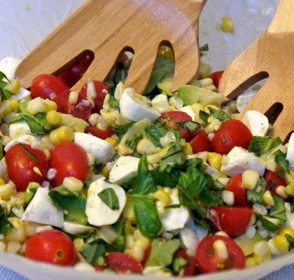 corn avocado salad recipe by rasoi menu