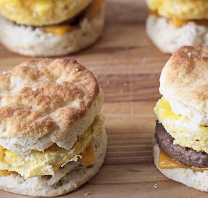 Egg in a Biscuit recipe by rasoi menu