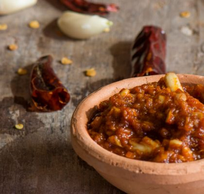 red garlic chutney by rasoi menu