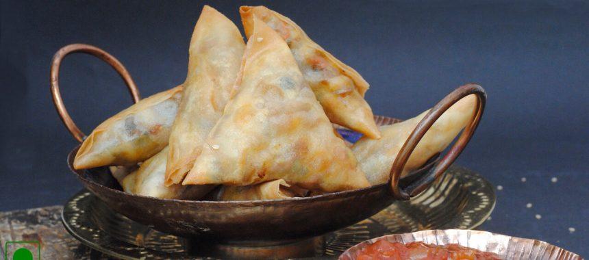 Farali Samosa Recipe