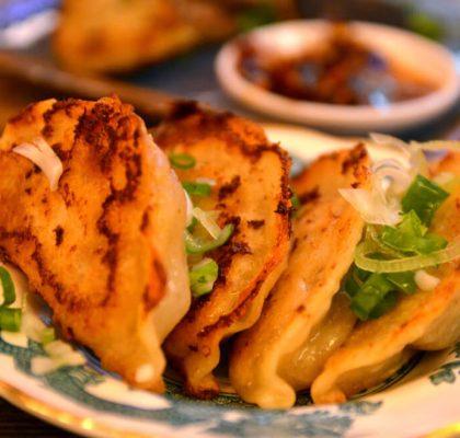 Crispy Chinese Dumplings (Chinese Jiaozi) by rasoi menu
