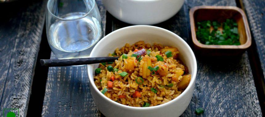 Leftover Fried Rice Recipe