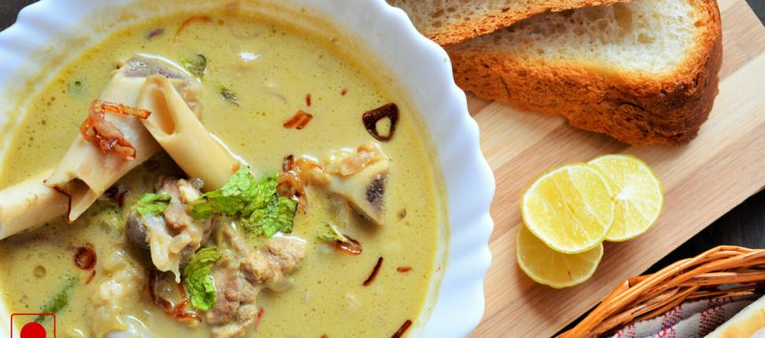 Traditional Mutton Soup Recipe