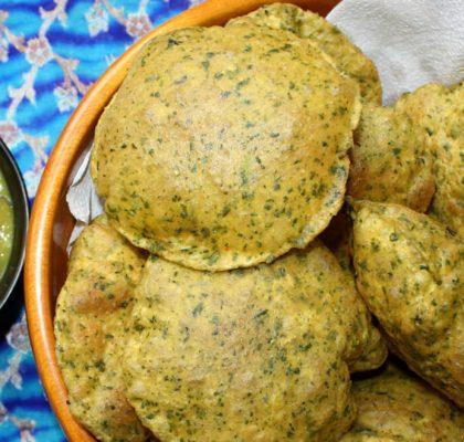 methi puri Recipe by rasoi menu