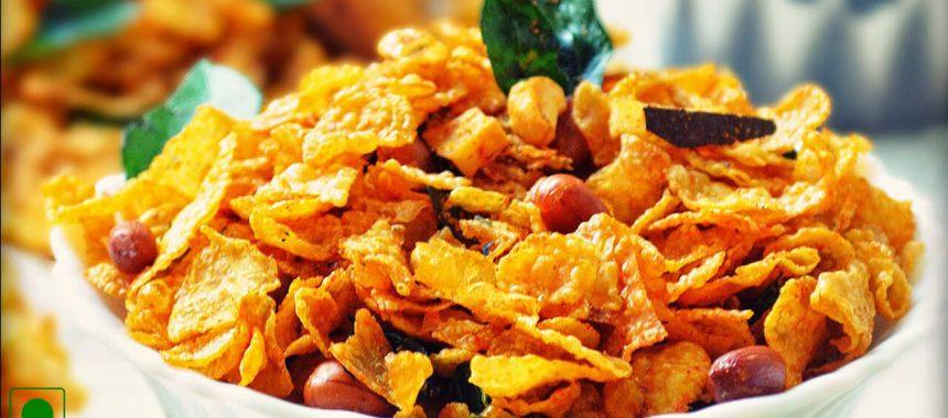 Corn Flakes Chivda Recipe