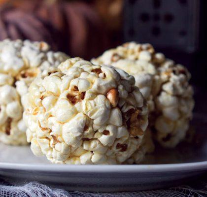 Halloween Popcorn Treats recipe by rasoi menu