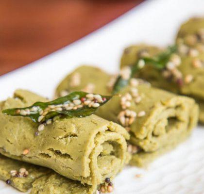 farali khandvi recipe by rasoi menu