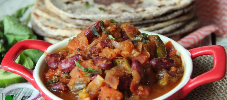 Rajma Paratha Recipe