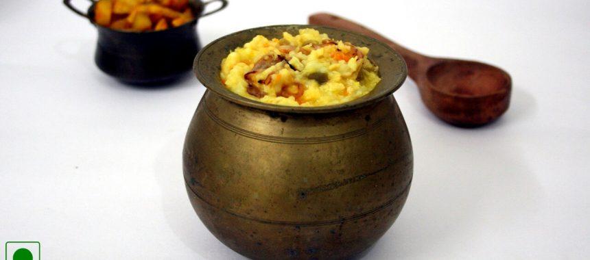 Suran Khichdi Recipe