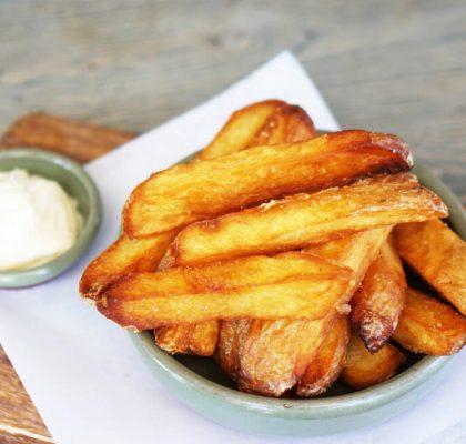 triple fried chips recipe by rasoi menu