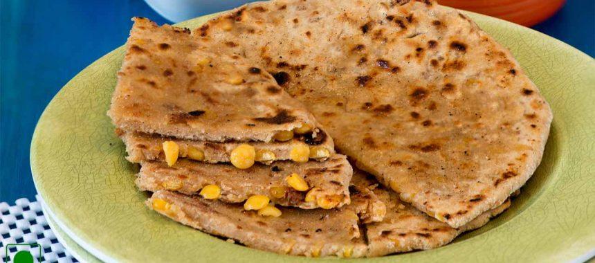 Chana Stuffed Paratha Recipe