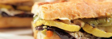 Grilled eggplant parmigiana panini recipe by rasoi menu