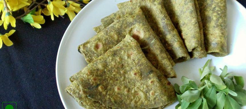 Hariyali Roti Recipe