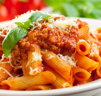 Pasta With Creamy Tomato Sauce recipe by Rasoi Menu