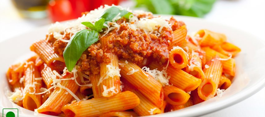 Pasta with Creamy Tomato Sauce Recipe