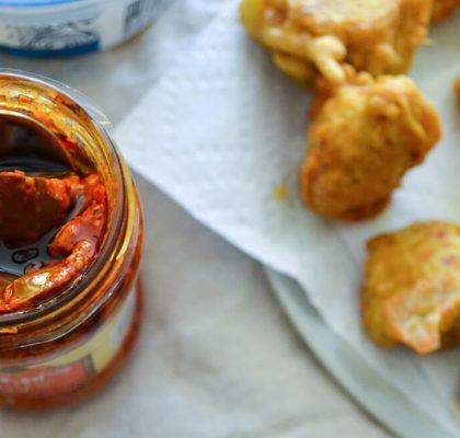 kacha kela na bhajiya recipe by rasoi menu