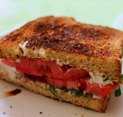 tomato and basil sandwich recipe by rasoi menu