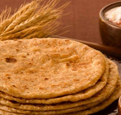 Wheat Paratha Recipe by Rasoi Menu