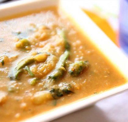 dal dhokli recipe by Rasoi Menu