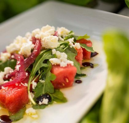 watermelon and Feta cheese salad by rasoi menu