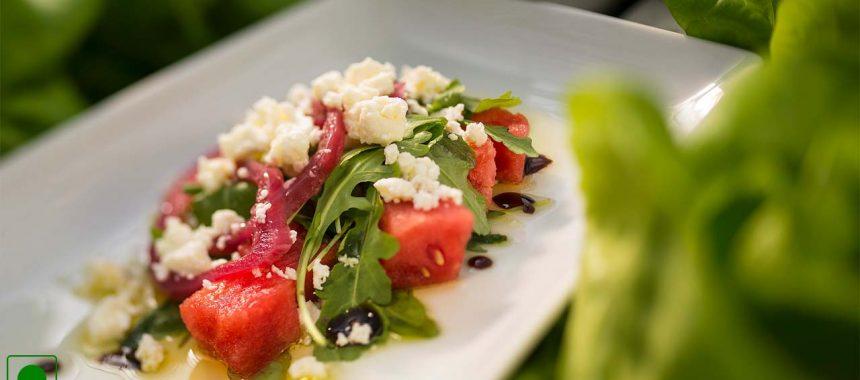 Watermelon and Feta Cheese Salad Recipe