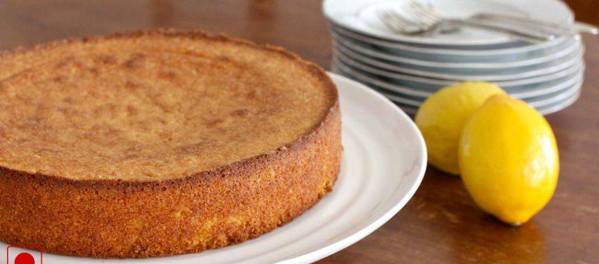 Almond Lemon Cake Recipe