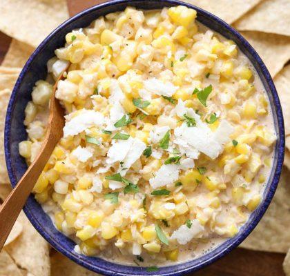 corn dip recipe by rasoi menu