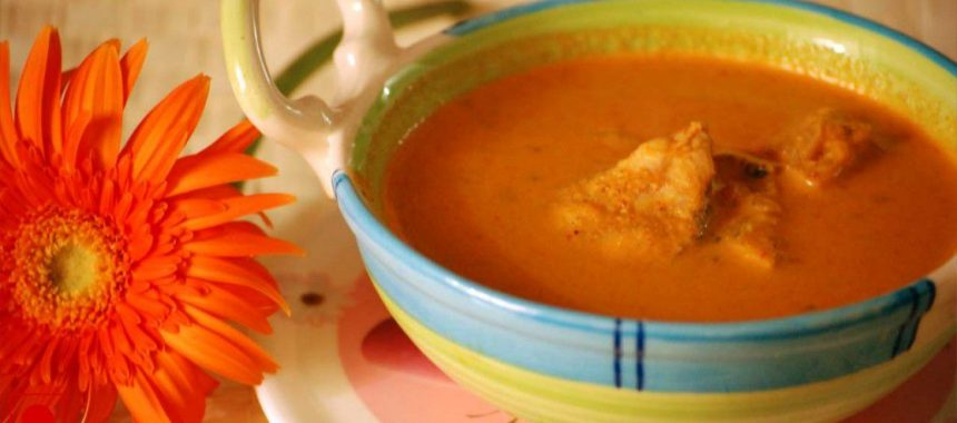 Microwave Style Goan Fish Curry Recipe