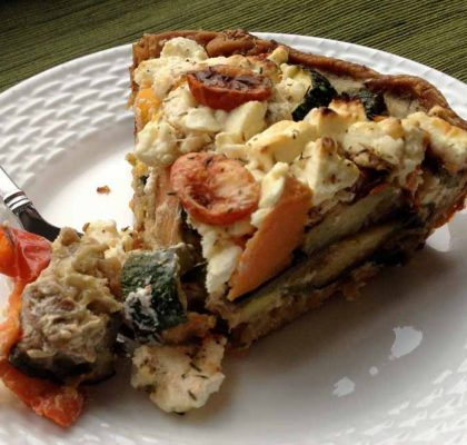 roast vegetable pie recipe by rasoi menu