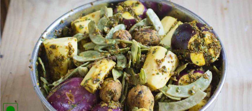 Surti Undhiyu Recipe