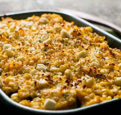 sweet corn and potato gratin recipe by rasoi menu