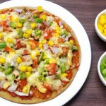 Vegetable Cheese Pizza