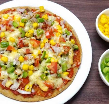 vegetable cheese pizza by rasoi menu