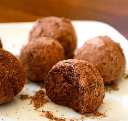 chocolate orange truffles recipe by rasoi menu
