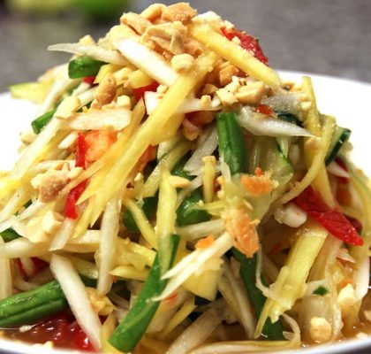 papaya salad recipe by rasoi menu