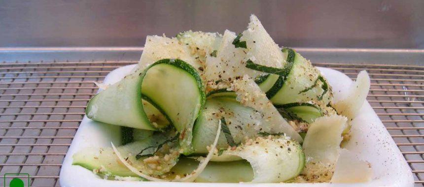 Steamed Zucchini Salad Recipe