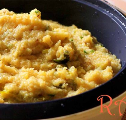 rava upma recipe by rasoi menu