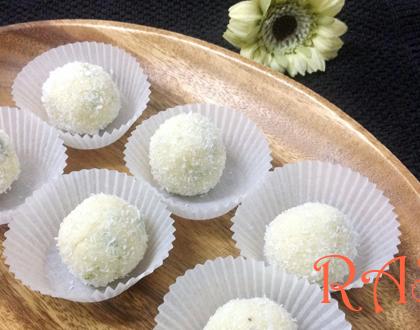 Coconut Ladoo Recipe by Rasoi Menu
