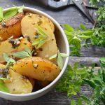 Baked Potatoes with Oregano